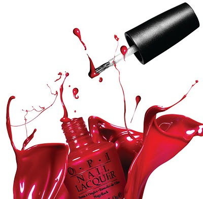 OPI - Red Splash